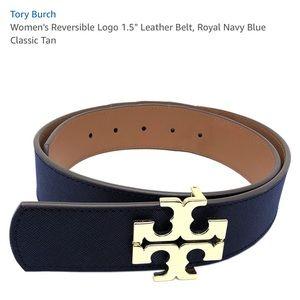 Tory Burch Reversible Logo Belt
